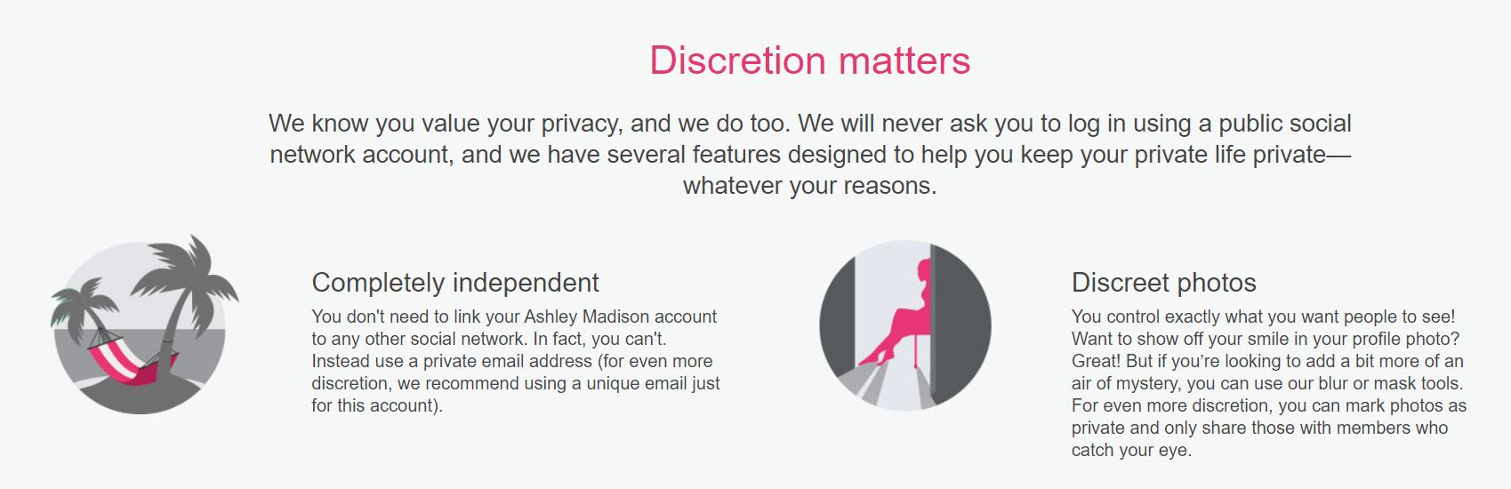 Anonimato do usuário e espaço geral seguro para encontros on-line